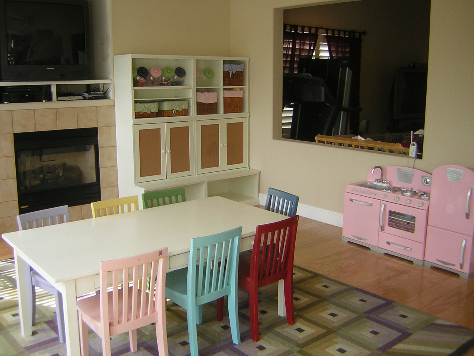 A Dining Room Transformed Into A Kid S Playroom San Diego Professional Orga